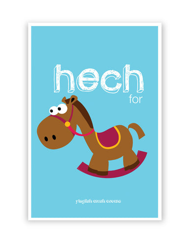 Posters Online | Hech For Horse Yinglish Crash Course Poster Online India | Designed by: Harjot Sokhey