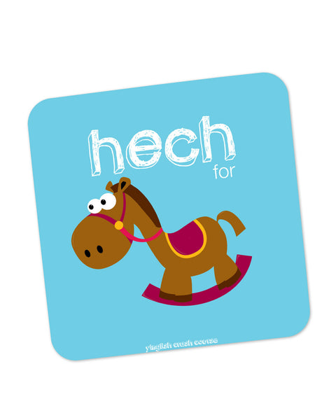 Buy Coasters Online | Hech For Horse Yinglish Crash Course Coaster Online India | PosterGuy.in