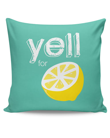 PosterGuy | Yell For Lemon Yinglish Crash Course Cushion Cover Online India