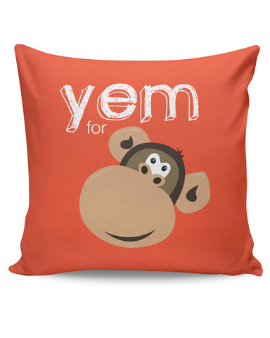 PosterGuy | Yem For Monkey Yinglish Crash Course Cushion Cover Online India