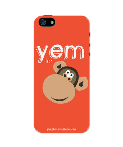 iPhone 5 / 5S Cases & Covers | Yem For Monkey Yinglish Crash Course iPhone 5 / 5S Case Online India