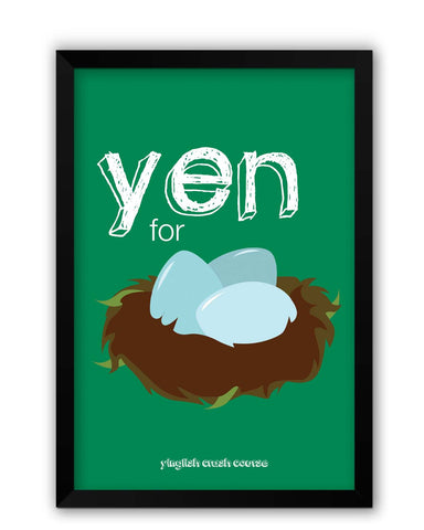 Framed Posters | Yen for Nest Yinglish Crash Course Laminated Framed Poster Online India