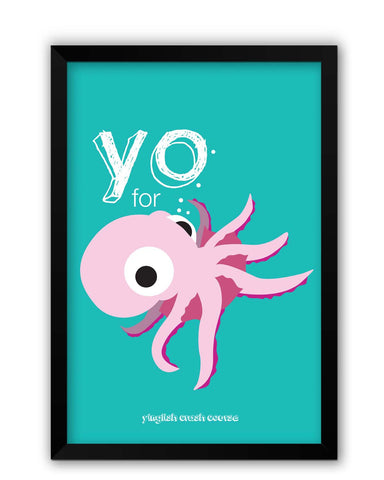 Framed Posters | You for octopus Yinglish Crash Course Laminated Framed Poster Online India