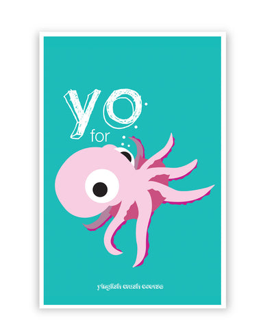 Posters Online | You for octopus Yinglish Crash Course Poster Online India | Designed by: Harjot Sokhey