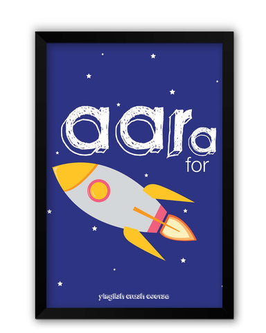 Framed Posters | Aara for Rocket Yinglish Crash Course Laminated Framed Poster Online India