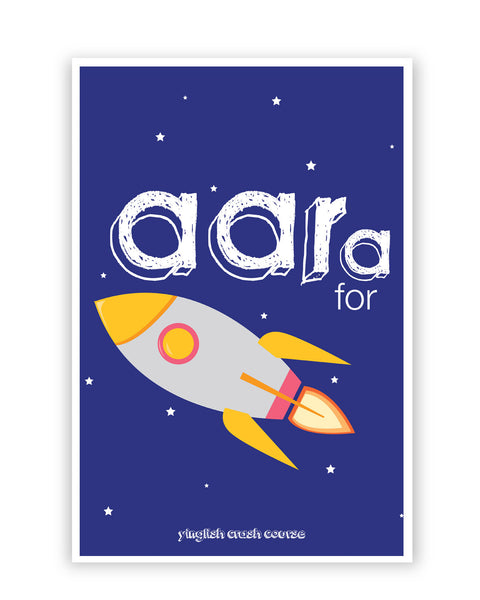 Posters Online | Aara for Rocket Yinglish Crash Course Poster Online India | Designed by: Harjot Sokhey