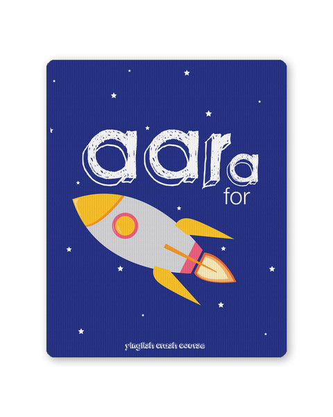 Buy Mousepads Online India | Aara for Rocket Yinglish Crash Course Mouse Pad Online India
