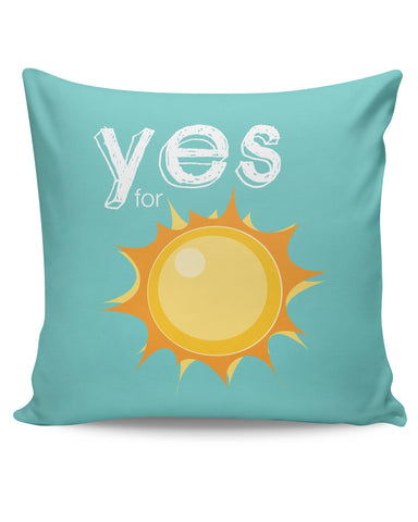 PosterGuy | Yes for Sun Yinglish Crash Course Cushion Cover Online India