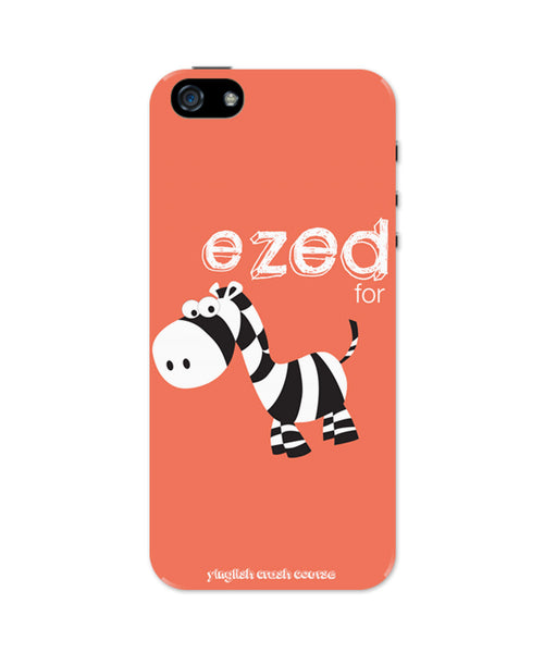 iPhone 5 / 5S Cases & Covers | Ezed for Zebra Yinglish Crash Course iPhone 5 / 5S Case Online India
