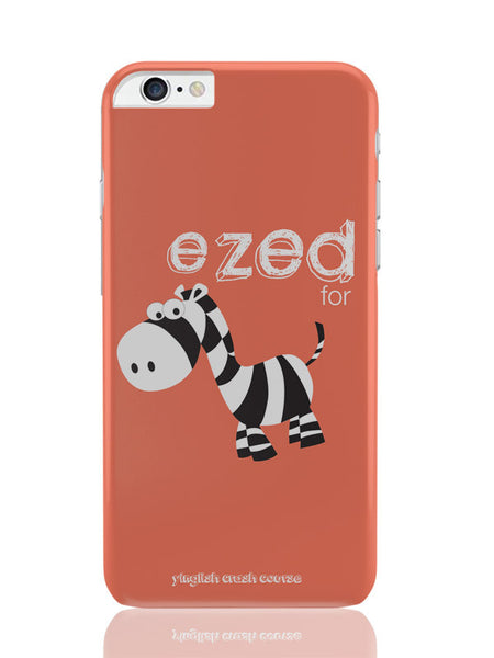 iPhone 6 Plus / 6S Plus Covers and Cases | Ezed for Zebra Yinglish Crash Course iPhone 6 Plus / 6S Plus Cover Online India