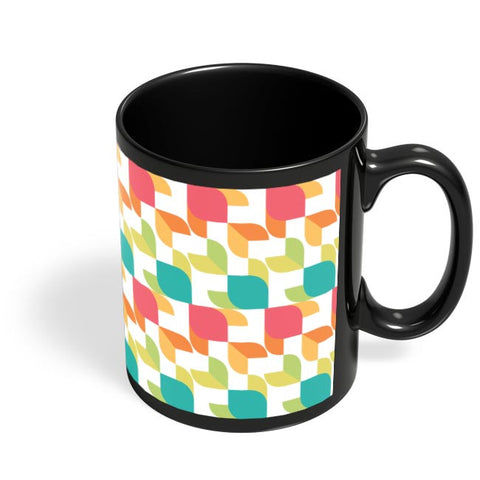 Coffee Mugs Online | Pisces Pattern Black Coffee Mug Online India