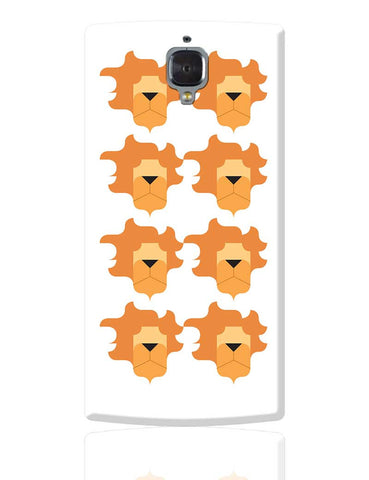 Leo Pattern OnePlus 3 Cover Online India