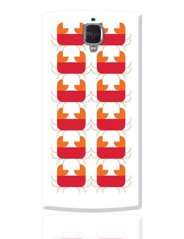 Cancer Pattern OnePlus 3 Cover Online India