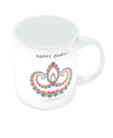 Happy Diwali Diya Mug