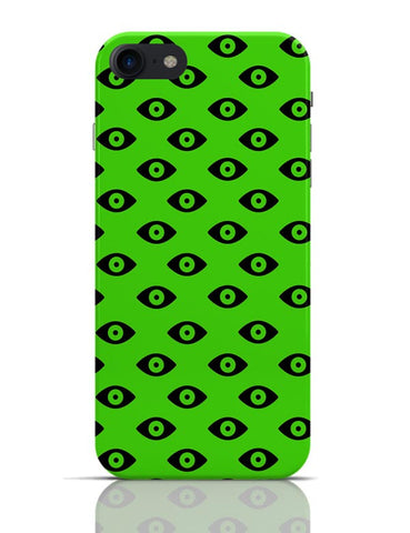 Quirky Eyes Pattern  iPhone 7 Covers Cases Online India