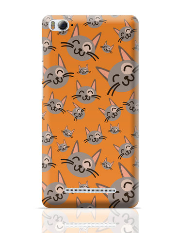 Xiaomi Mi 4i Covers | Cute Happy Cats Pattern Xiaomi Mi 4i Cover Online India