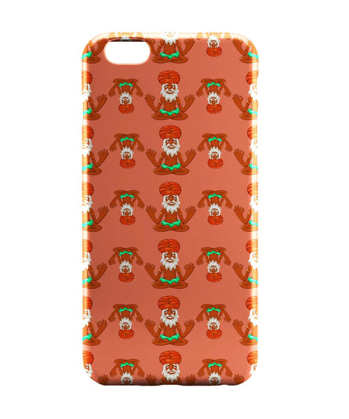 iPhone 6 Cases | Quirky Baba Pattern iPhone 6 Case Online India