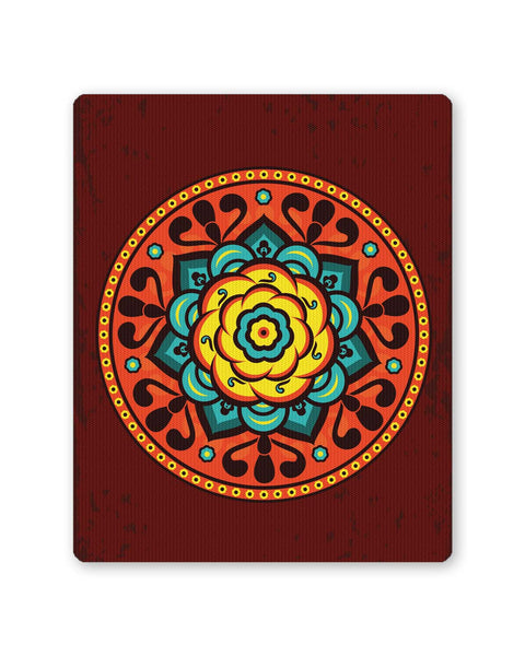 Buy Mousepads Online India | Floral Petal Design Art Mouse Pad Online India