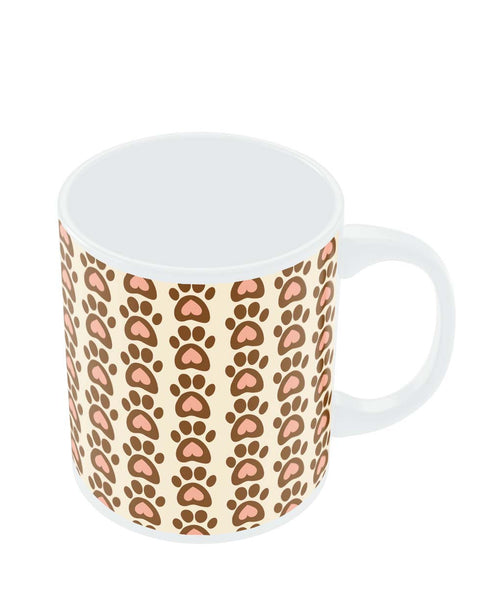 Coffee Mugs Online | Cute Abstract Feet Pattern Mug Online India