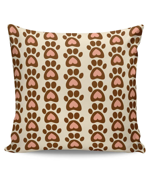 PosterGuy | Cute Abstract Feet Pattern Cushion Cover Online India