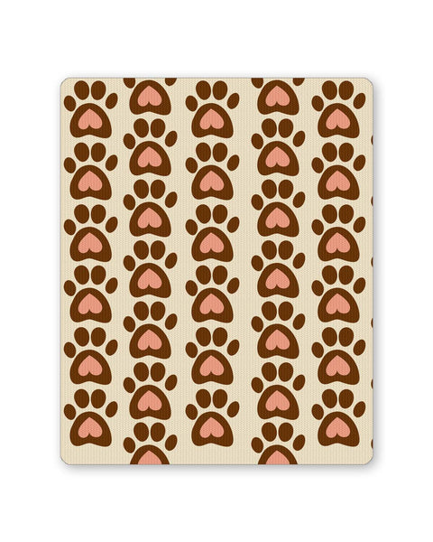 Buy Mousepads Online India | Cute Abstract Feet Pattern Mouse Pad Online India