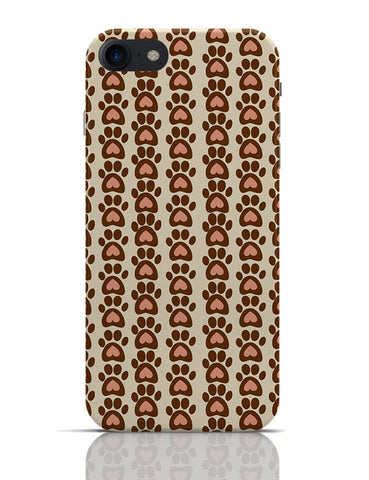 Cute Abstract Feet Pattern  iPhone 7 Covers Cases Online India