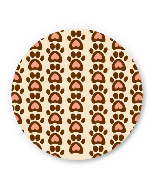 PosterGuy | Cute Abstract Feet Pattern Fridge Magnet Online India by Vaibhav Designs