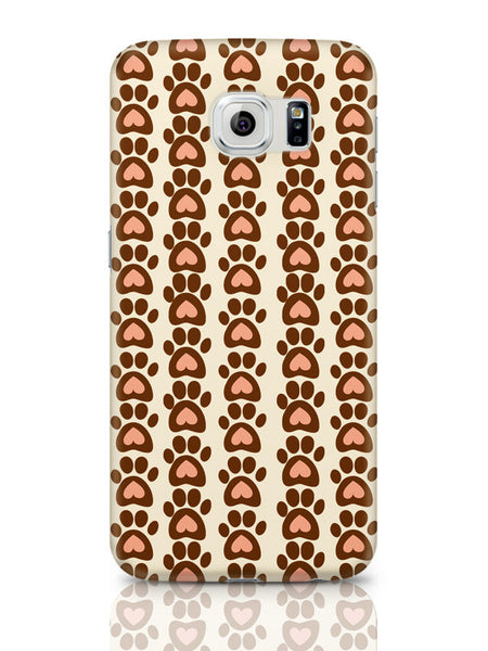Samsung Galaxy S6 Covers & Cases | Cute Abstract Feet Pattern Samsung Galaxy S6 Covers & Cases Online India