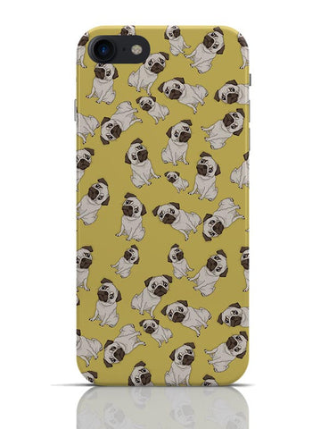 Pug Life Pattern  iPhone 7 Covers Cases Online India
