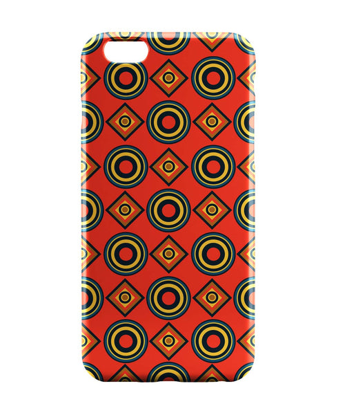 iPhone 6 Cases | Abstract Circle Rings Pattern iPhone 6 Case Online India