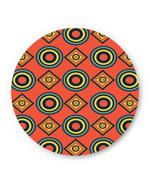 PosterGuy | Abstract Circle Rings Pattern Fridge Magnet Online India by Vaibhav Designs