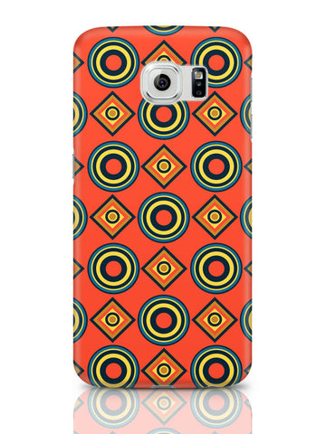 Samsung Galaxy S6 Covers & Cases | Abstract Circle Rings Pattern Samsung Galaxy S6 Covers & Cases Online India