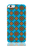 iPhone 6 Plus / 6S Plus Covers & Cases | Abstract Circle Rings Pattern (Blue) iPhone 6 Plus / 6S Plus Covers and Cases Online India