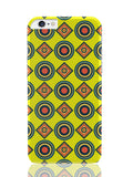 iPhone 6 Plus / 6S Plus Covers & Cases | Abstract Tribal Circle Rings Pattern (Yellow) iPhone 6 Plus / 6S Plus Covers and Cases Online India