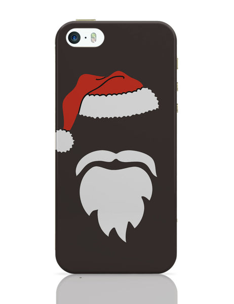 iPhone 5 / 5S Cases & Covers | Minimal Santa Claus Illustration iPhone 5 / 5S Case Online India