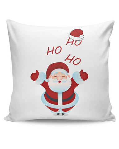 PosterGuy | Santa Claus Ho-Ho-Ho Illustration Cushion Cover Online India