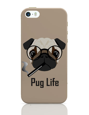 iPhone 5 / 5S Cases & Covers | Pug Life Funny Dog illustration iPhone 5 / 5S Case Online India