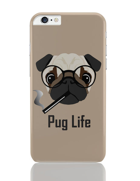 iPhone 6 Plus/iPhone 6S Plus Covers | Pug Life Funny Dog illustration iPhone 6 Plus / 6S Plus Covers Online India