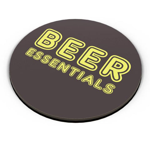 PosterGuy | Beer Essentials Fridge Magnet Online India by Vaibhav Designs