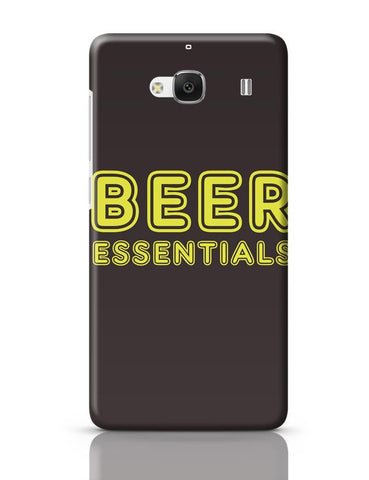 Xiaomi Redmi 2 / Redmi 2 Prime Cover| Beer Essentials Redmi 2 / Redmi 2 Prime Case Cover Online India