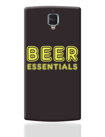 Beer Essentials OnePlus 3 Cover Online India