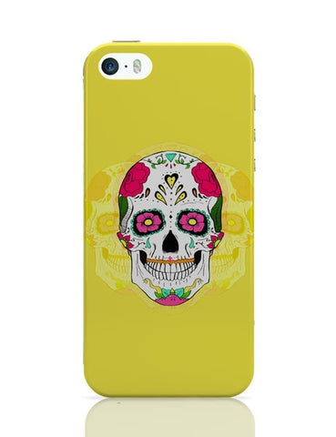 iPhone 5 / 5S Cases & Covers | Mr.. Springfield Skull |Psychedelic iPhone 5 / 5S Case Cover Online India