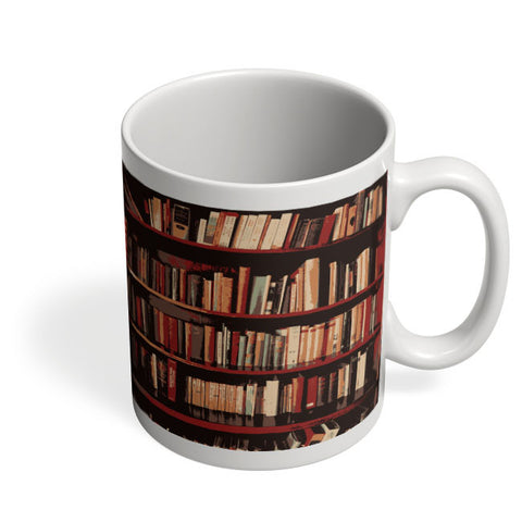 Coffee Mugs Online | Bookshelves Mug Online India