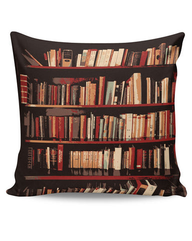 PosterGuy | Bookshelves Cushion Cover Online India