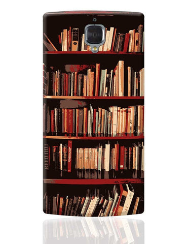 Bookshelves OnePlus 3 Cover Online India