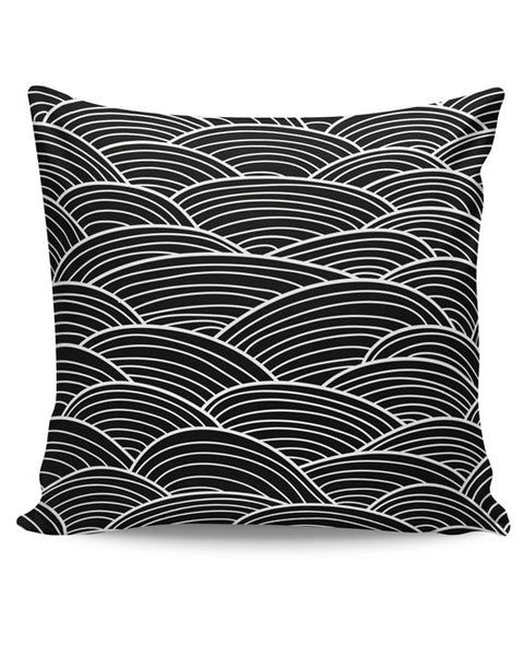 PosterGuy | Black And White Abstract Cushion Cover Online India