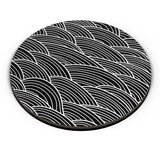 PosterGuy | Black And White Abstract Fridge Magnet Online India by Vaibhav Designs
