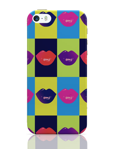 iPhone 5 / 5S Cases & Covers | Lips Design iPhone 5 / 5S Case Online India