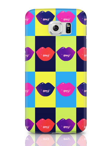 Samsung Galaxy S6 Covers | Lips Design Samsung Galaxy S6 Covers Online India
