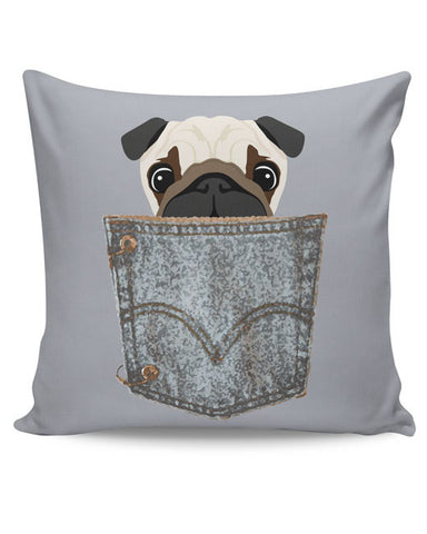 PosterGuy | Pug Cushion Cover Online India